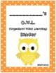 O.W.L. Binder Covers (Orange Border)