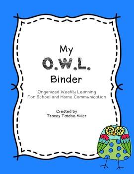OWL Binders
