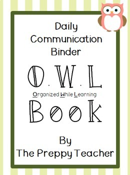 OWL Book Daily Communication Set