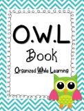 OWL Book/ OWL Binder