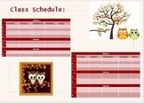 OWL Class Schedule