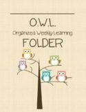 OWL Folder and Binder