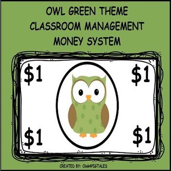 Owl Theme Character Education Rewards and Behavior Set