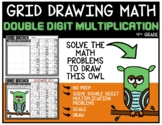 Grid Directed Drawing Math DOUBLE DIGIT MULTIPLICATION - OWL