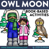 OWL MOON Activities & Read Aloud Lessons for Distance Learning Google Classroom