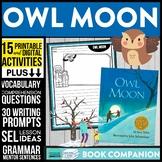 OWL MOON read aloud lessons