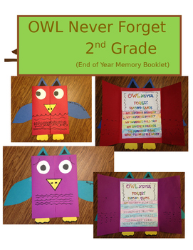 OWL Never Forget Memory Book (2nd Grade)