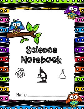 OWL Notebook & Folder Subject Cover Pages