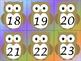 OWL Number Cards