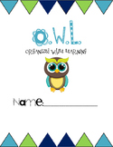 OWL Organized While Learning Binder/Folder Cover