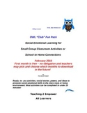 OWL Social Skills Club Activity Packet