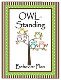 OWL-Standing Classroom Behavior Plan