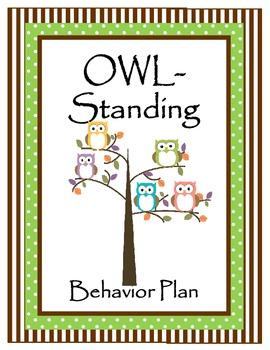 OWL-Standing Classroom Behavior Plan