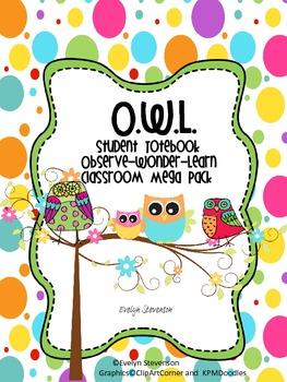 O.W.L. Student Binder Covers Classroom Mega Pack