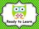 OWL THEME BEHAVIOR CLIP CHARTS