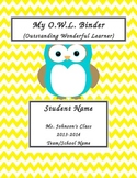 OWL binder cover