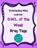 OWL of the Week Tags