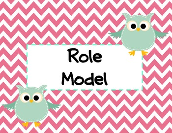 """""""OWL"""" see your Positive Behavior Chart"""