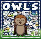 OWLS - ANIMALS BIRDS NOCTURNAL SCIENCE LITERACY NIGHT EYFS KS1