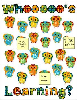 Classroom Design Kit - Owl theme
