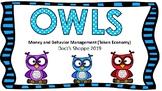 OWLS Classroom money and behavior management (Token economy)