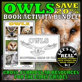 Nocturnal Animals: OWLS Book/Activity Bundle
