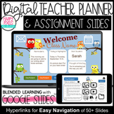 OWLS Daily Agenda Google Slides BLENDED and DISTANCE LEARNING