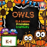 Marzano Lesson - Main Topic and Key Details {Owls Themed}