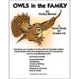 OWLS IN THE FAMILY - A NOVEL STUDY Gr. 3-6