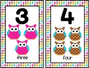OWLS {Number Strip}