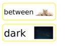 OWLS Pre-K Concept Word Cards Unit 7