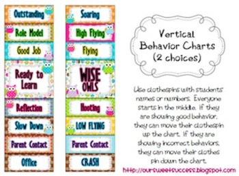OWLS {Vertical Behavior Chart}