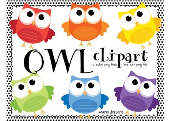 OWLS...OWLS...OWLS (clipart)