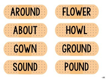 OW/OU Word Sort Freebie!