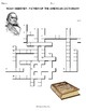 Noah Webster CROSSWORD PUZZLE (Father of the American Dictionary)
