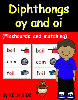 OY AND OI FLASHCARDS AND MATCHING