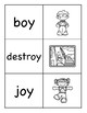OY Diphthong Picture Word Match