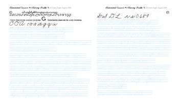 OZ3 Cursive Drill in text