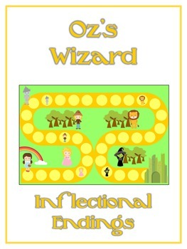 OZ'S WIZARD Inflectional Word Endings - ELA First Grade Game - Word Work Center