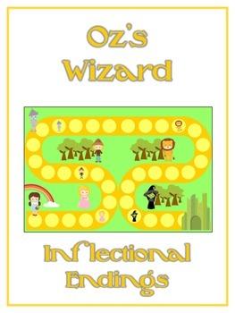 OZ'S WIZARD Inflectional Word Endings - ELA First Grade Ga
