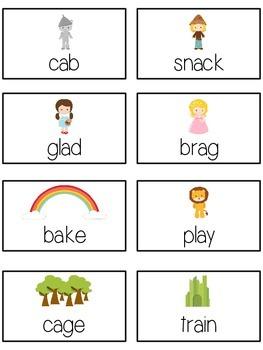 OZ'S WIZARD Vowels- ELA First Grade Folder Game - Word Work Center