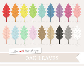 Oak Leaf Clipart; Nature, Tree, Fall
