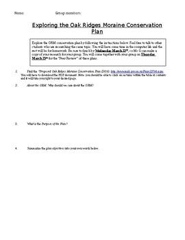 Oak Ridges Moraine Conservation Plan