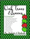 The Oak Tree & Leaves: Science, Literacy, Writing & Math