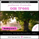 Oak Trees • Reading Comprehension Passages and Questions • RL I