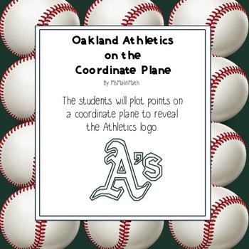 Oakland Athletics Logo on the Coordinate Plane