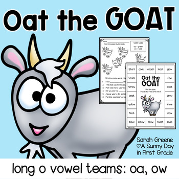 Oat the Goat {long o: oa, ow pack!}