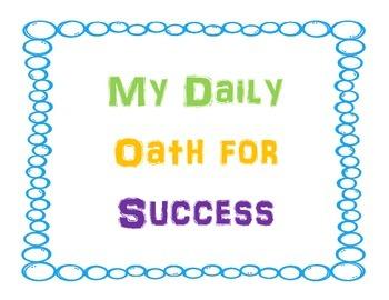 Oath/Pledge for Success