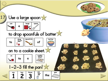 Oatmeal Cookies - Animated Step-by-Step Recipe - SymbolStix