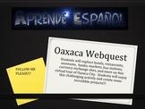 Oaxaca Web Quest